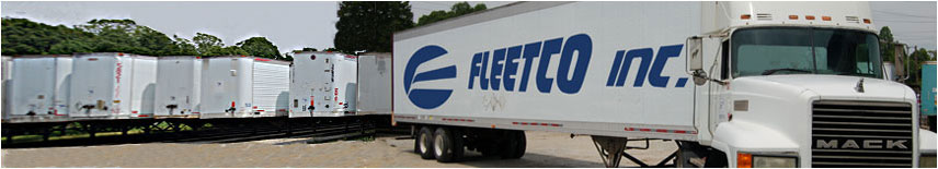 Semi Truck Trailer Leasing, Trailer Rental, Storage, Repair & Sales - Fleetco Trailers